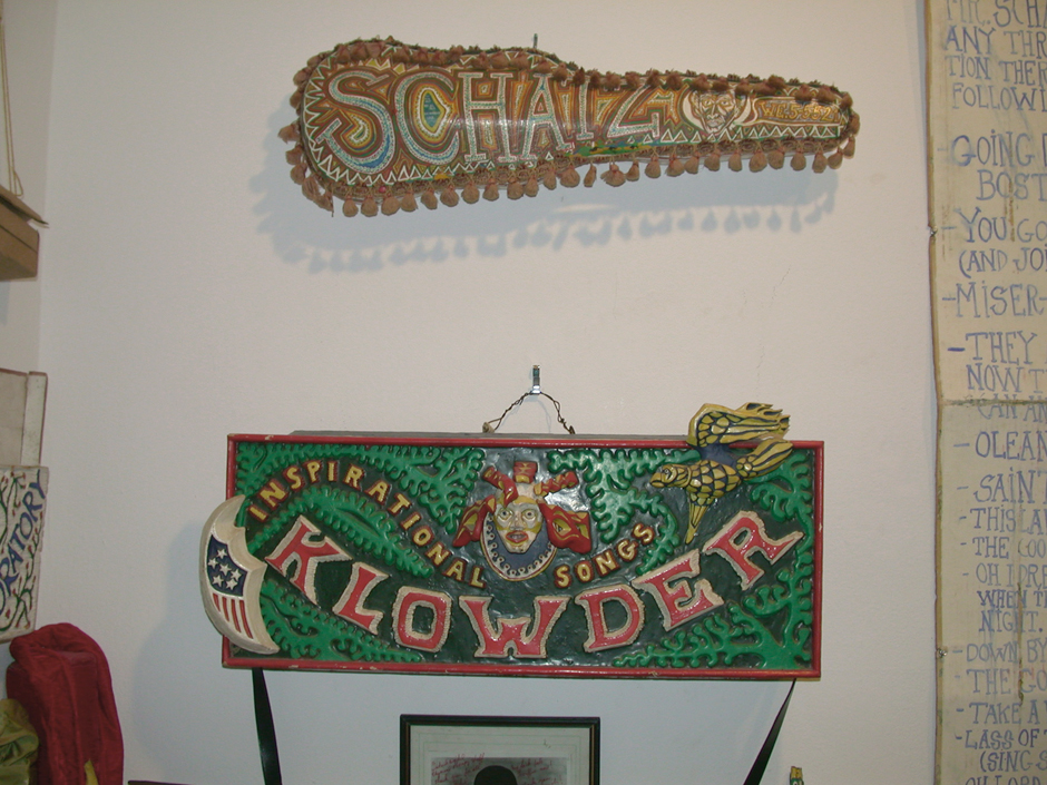 Decorated Fiddle Cases on your close left