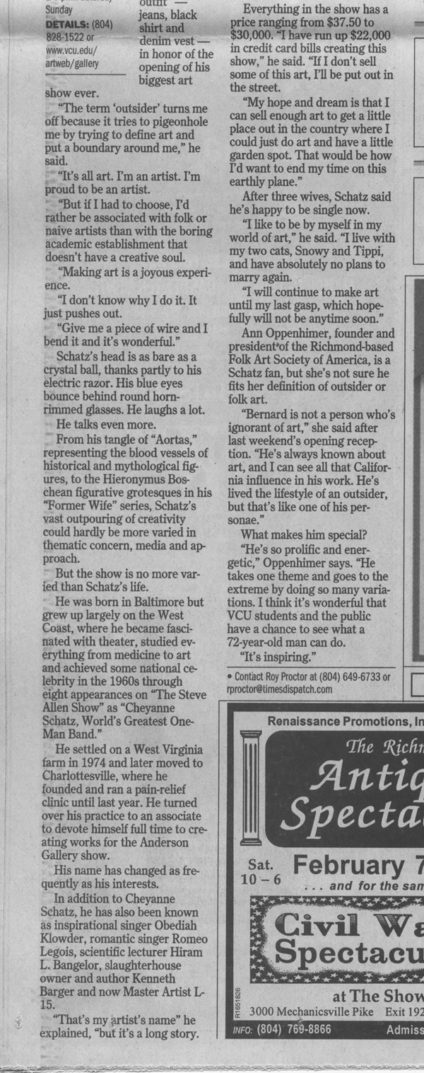 Richmond Times Dispatch 2004 article p2b