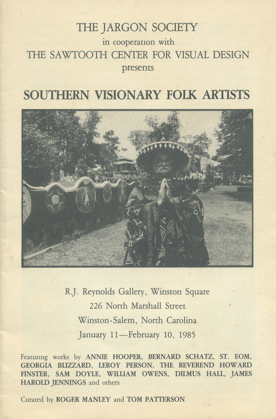 Southern Visionary Folk Artists cover