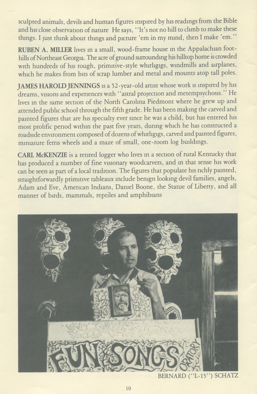 Southern Visionary Folk Artists page 10