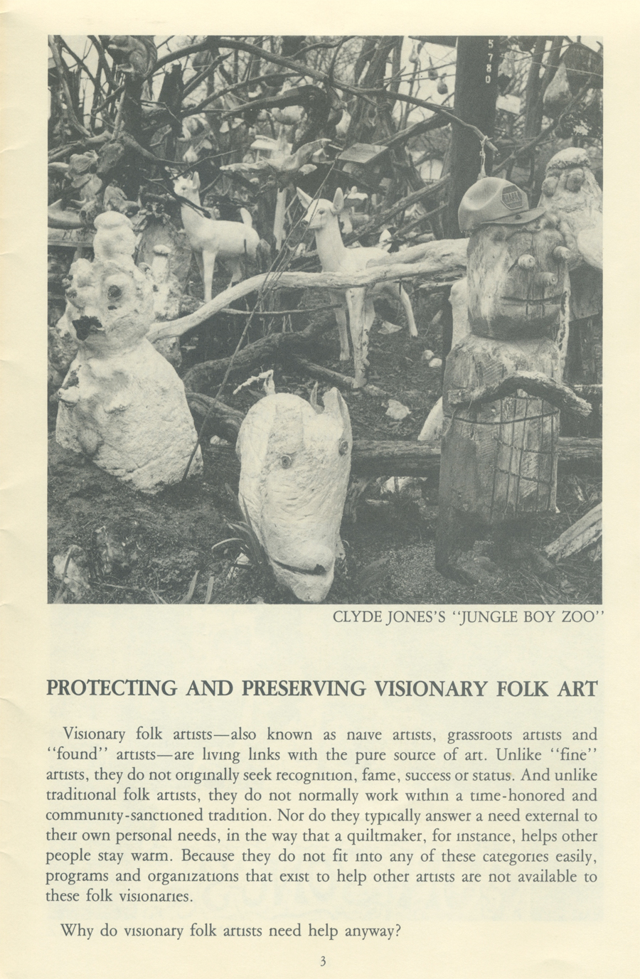 Southern Visionary Folk Artists page 3