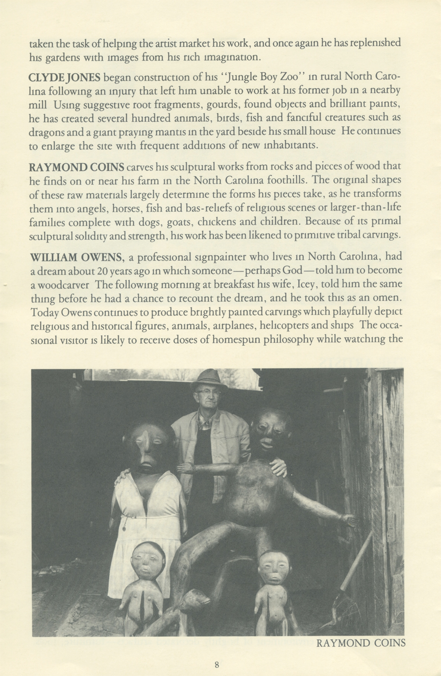 Southern Visionary Folk Artists page 8
