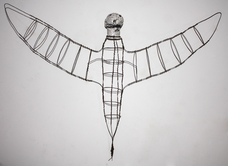 #106 Intergallactic Angel with Wire Body